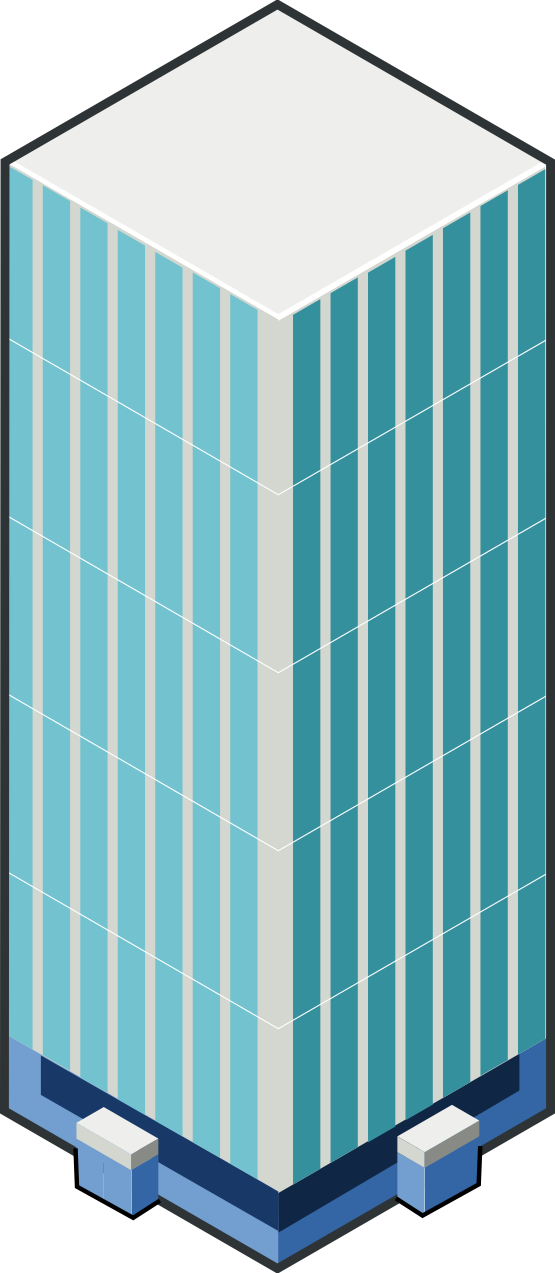 Transparent building clipart.