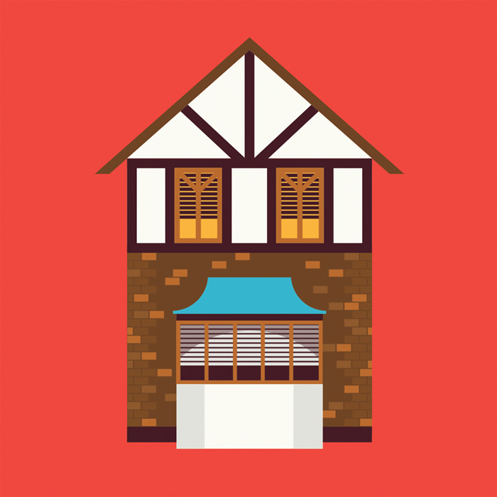 Illustrations Of Houses.
