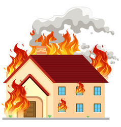Building Fire Clipart Vector Images (86).
