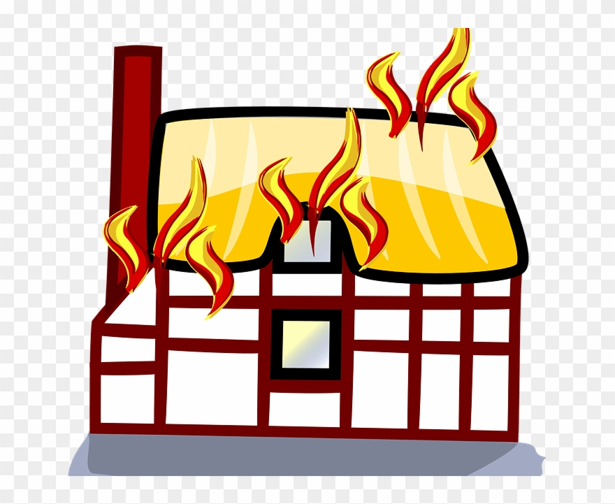 Bridge Clipart On Fire.