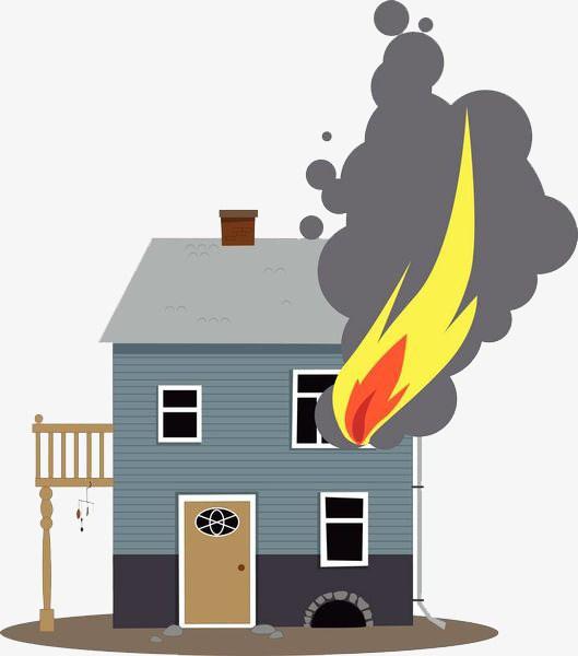Building fire clipart 8 » Clipart Portal.
