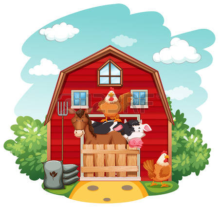 6,577 Farm Building Cliparts, Stock Vector And Royalty Free Farm.
