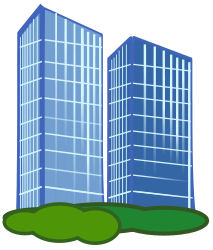 Tall Building Clipart.