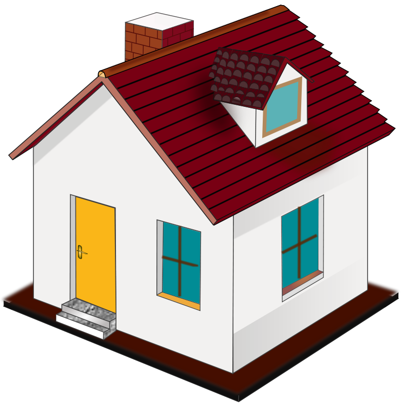 Build house clip art.
