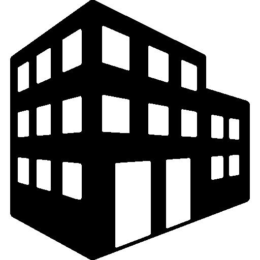 3D building.