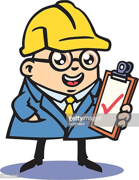 48 Building Inspector Stock Illustrations, Clip art, Cartoons.