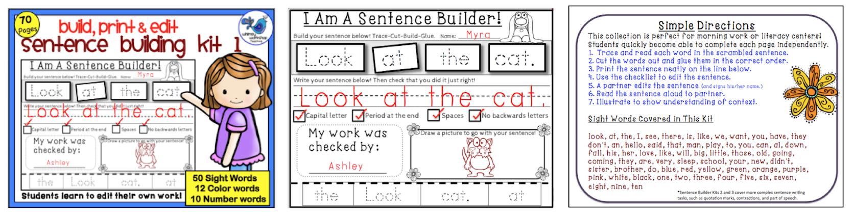 Sentence Building Kit 1.