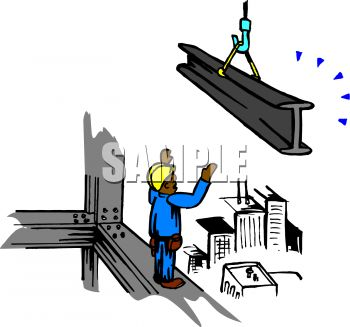 Construction Workers in the City.