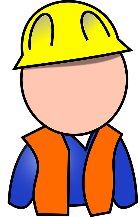 Free vector graphic: Builder, Construction Worker.