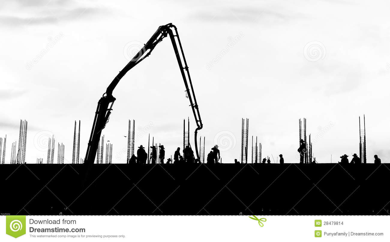 Infrastructure building clipart.