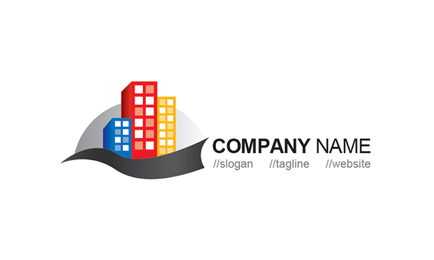 Free Building Logo Template » iGraphic Logo.
