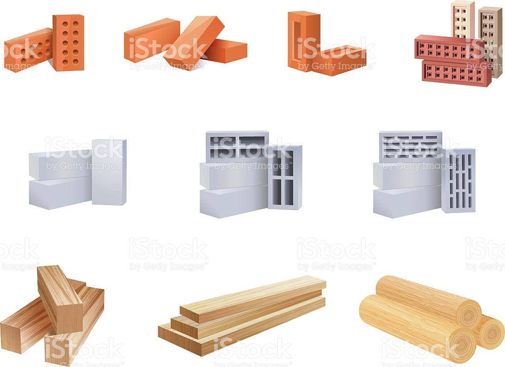 Building material clipart clipground for Materials needed to build a house