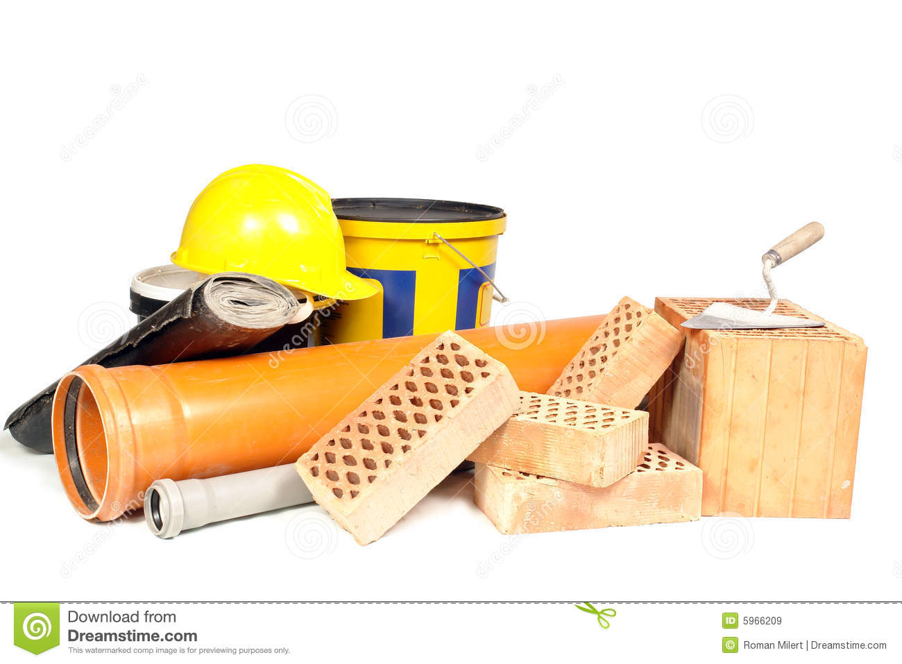 Building Materials Royalty Free Stock Images.