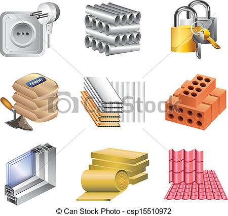 Building materials Stock Illustration Images. 17,500 Building.