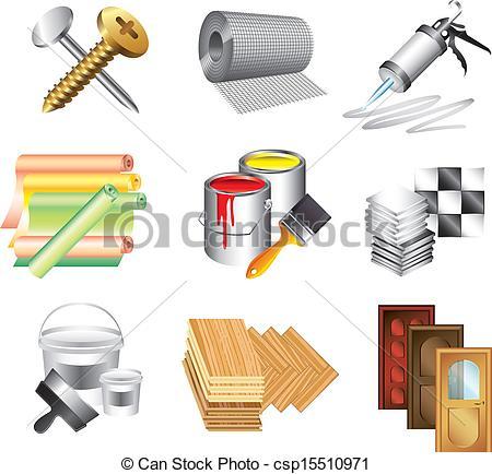 Clip Art Building Materials Clipart.