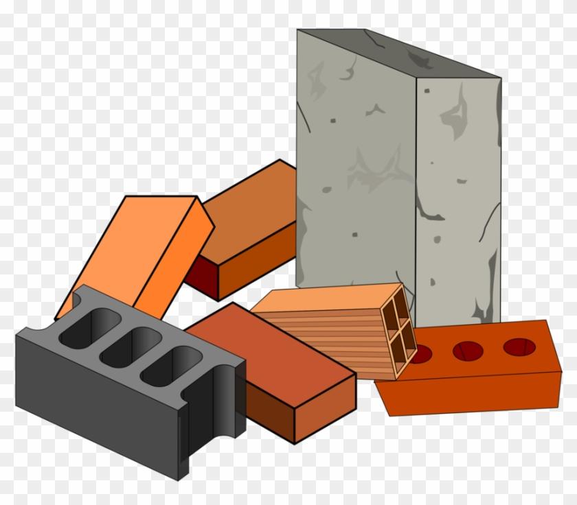Building Materials Brick Concrete.