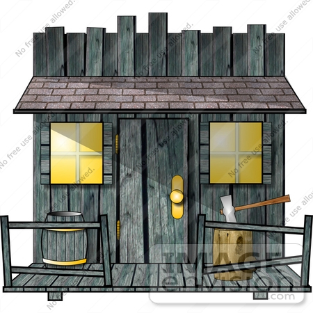Old building clipart.