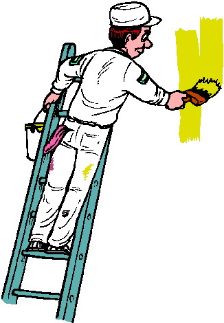 House Painter Clipart.