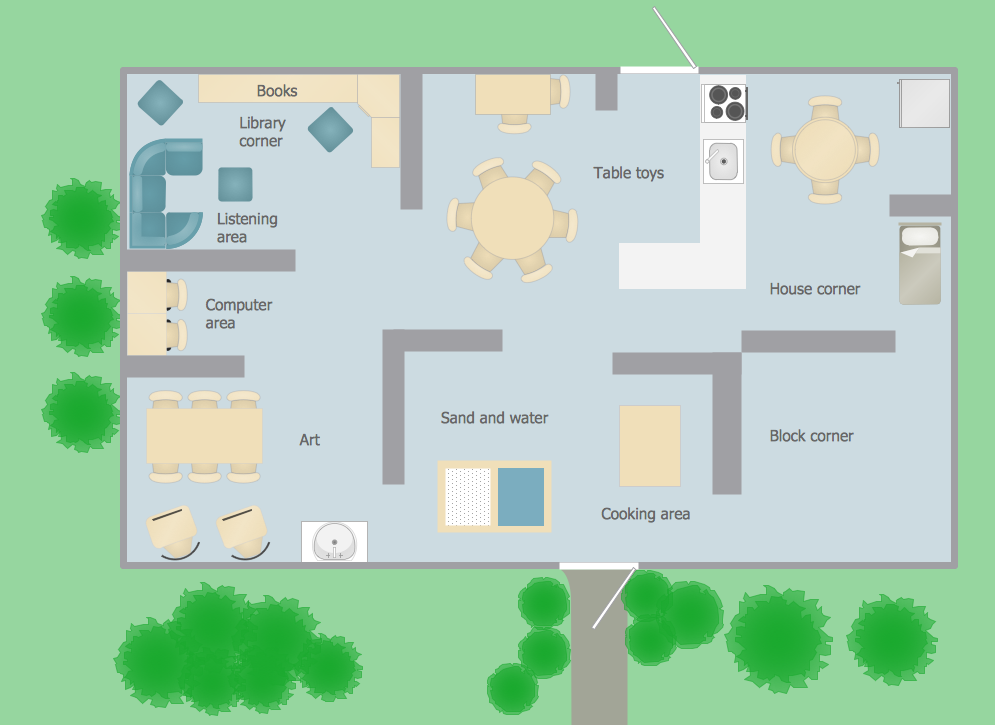 Classroom Layout Clipart ~ Building plan clipart clipground