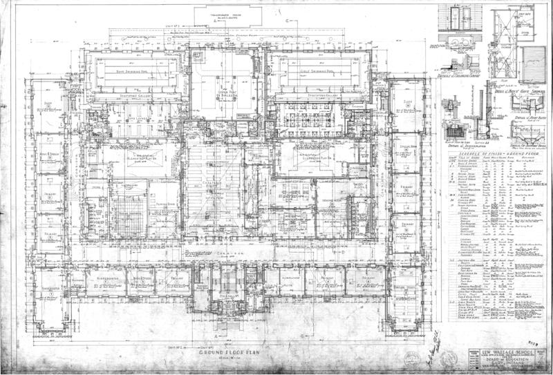 Building plans; blueprints.