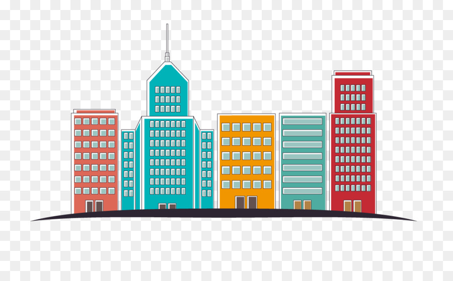 City Silhouette png download.