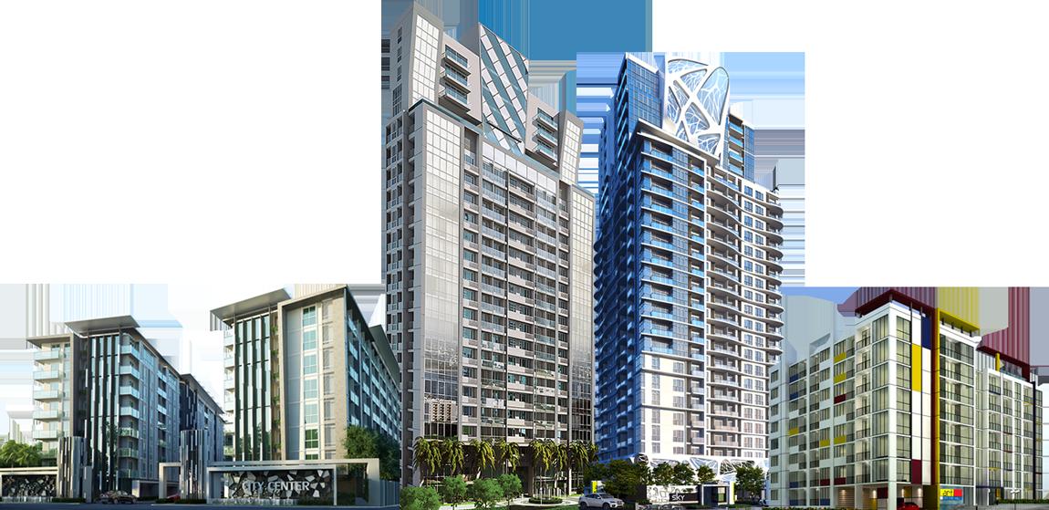 Big Building PNG Image.