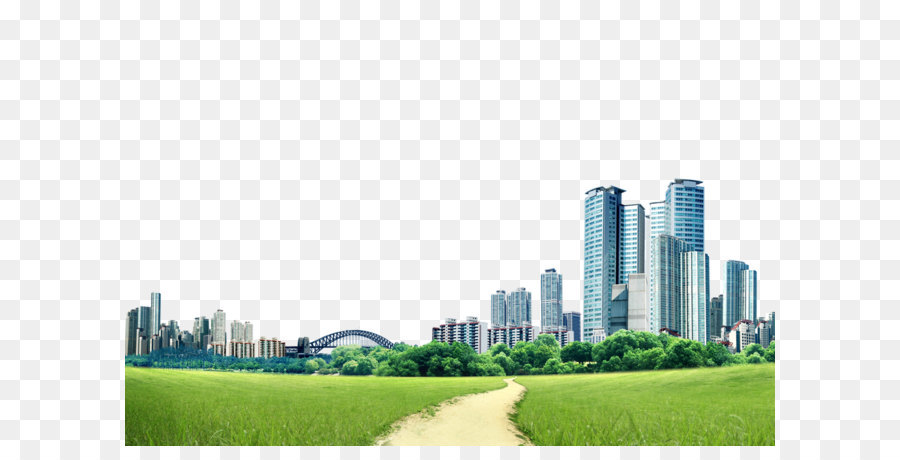 Skyline City png download.