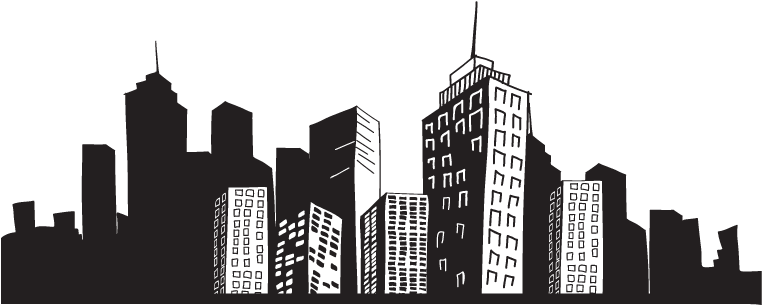 HD Cityscape Png.