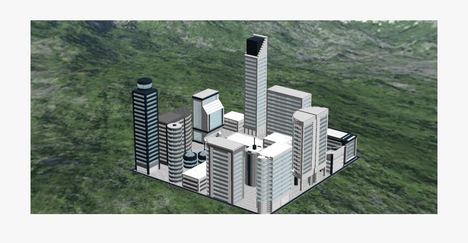 Futuristic City Png.