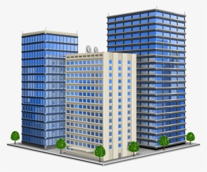 Office Building Vector Png PNG Images.