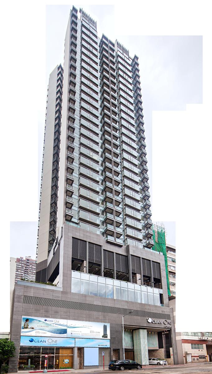 Apartment Building PNG Image.