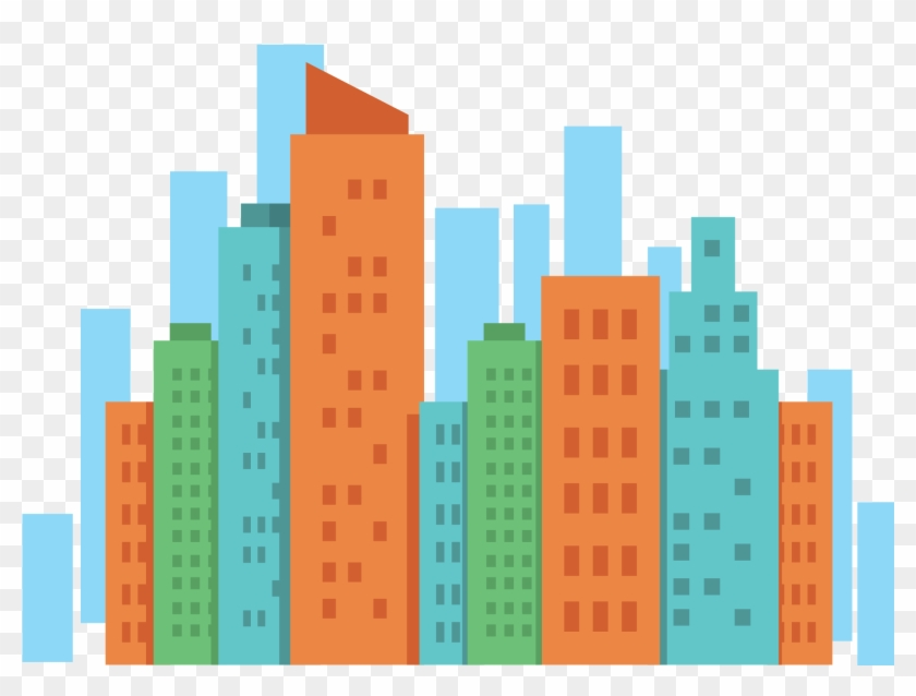 City Building Vector At Getdrawings Com Free For.