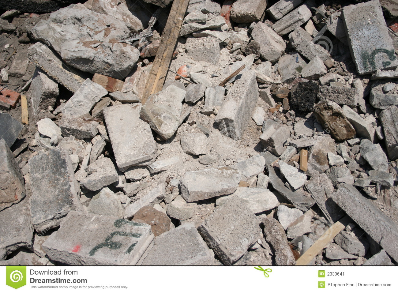 Rubble Clip Art.