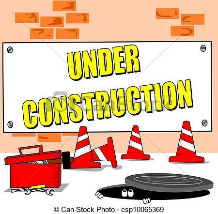 Building site clipart.