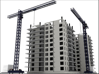 Building Under Construction Clipart.