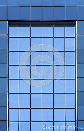 Office Building Windows Royalty Free Stock Images.