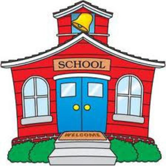 Free school building clipart.