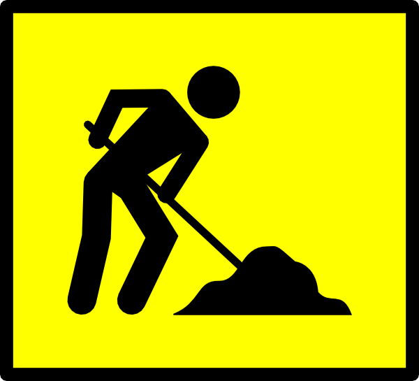 Man At Work Clipart.