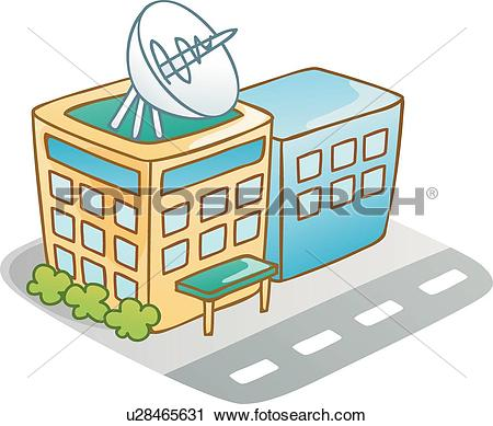 Clipart of Cutie icon, icons, Road, buildings, Building, Modern.