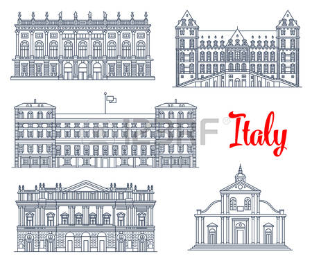 4,708 Italian Architecture Stock Vector Illustration And Royalty.
