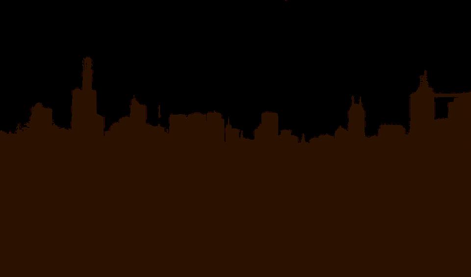 Free vector graphic: Cityscape, Skyline, Silhouette.
