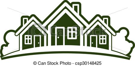 Vector Illustration of Abstract vector illustration of country.