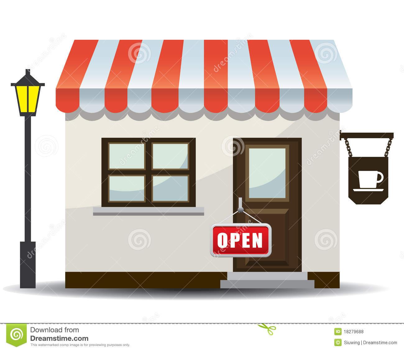 Go Back Images For Restaurant Building Clipart