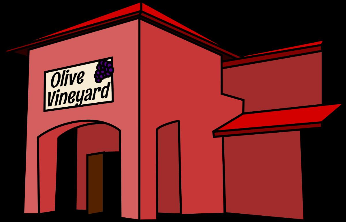 Restaurant Building Clipart.