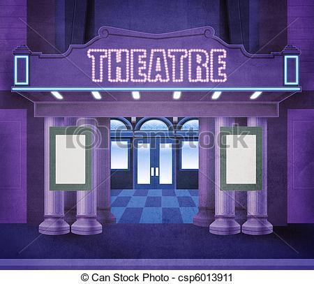 Community Theatre Clipart.