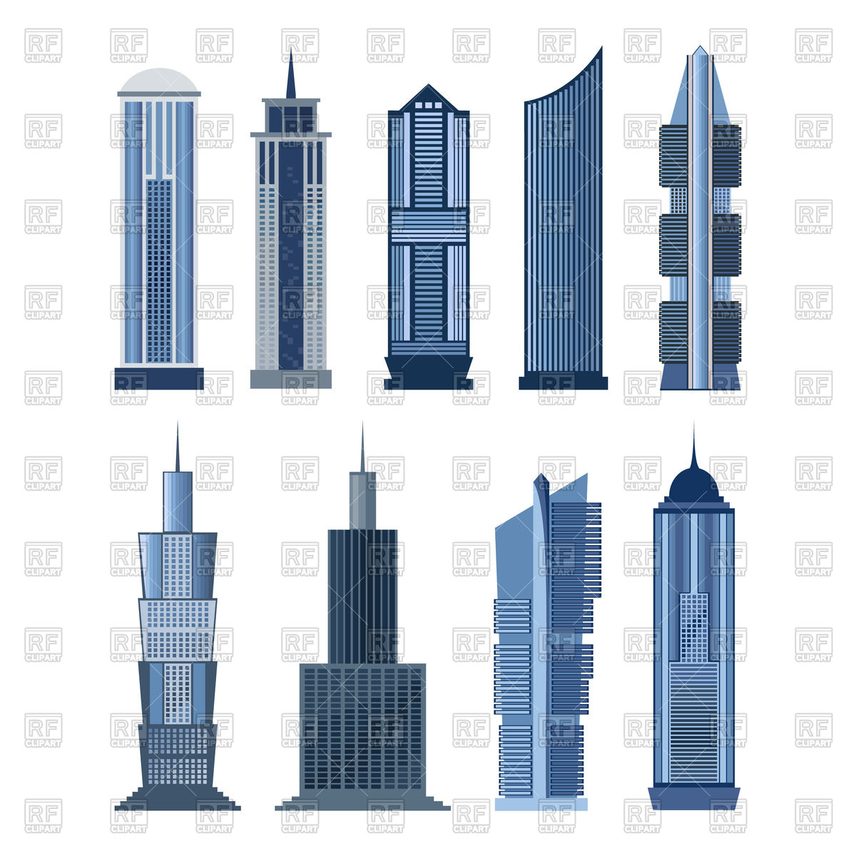 buildings skyscrapers clipart clipground