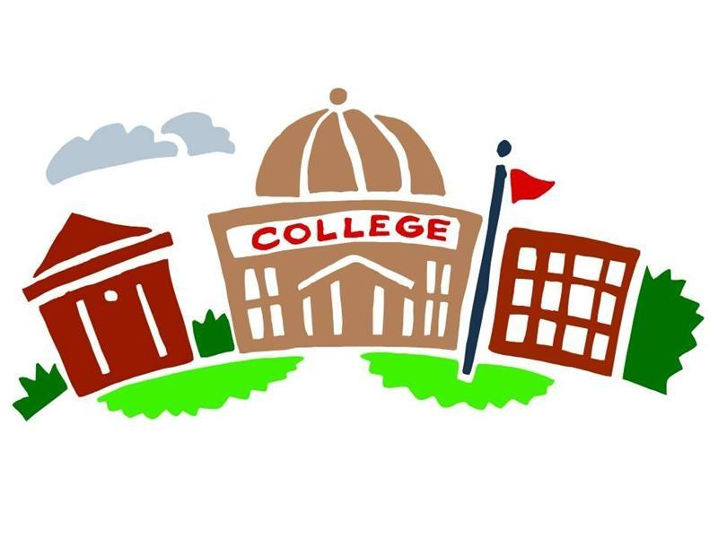 College Building Clip Art.
