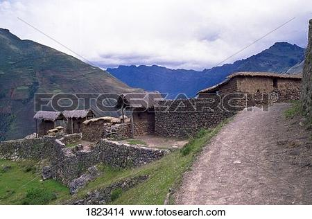 Stock Photo of Sacred Valley of the Incas, Peru, South America.