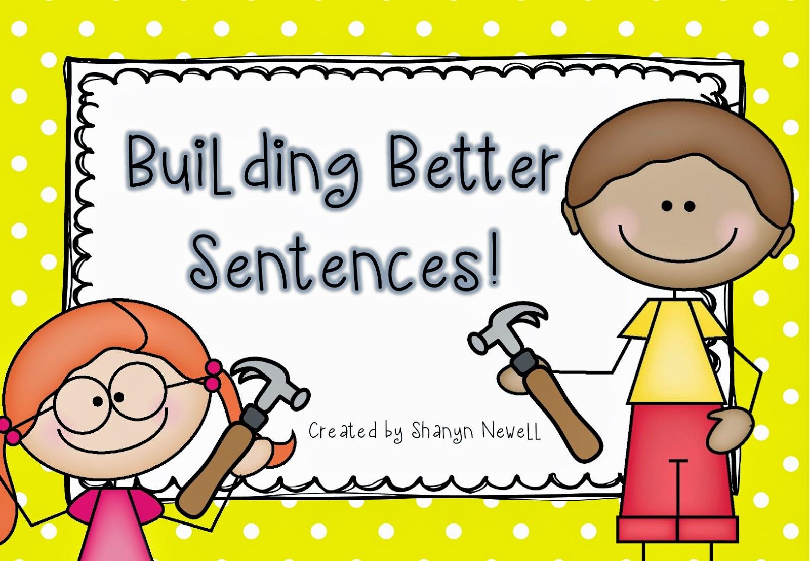Writing Sentences Clipart.