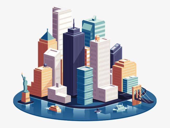 Buildings clipart modern building, Buildings modern building.